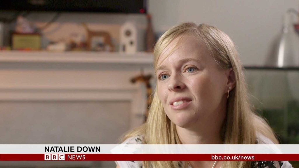 BBC Fertility Film - Natalie Down interview