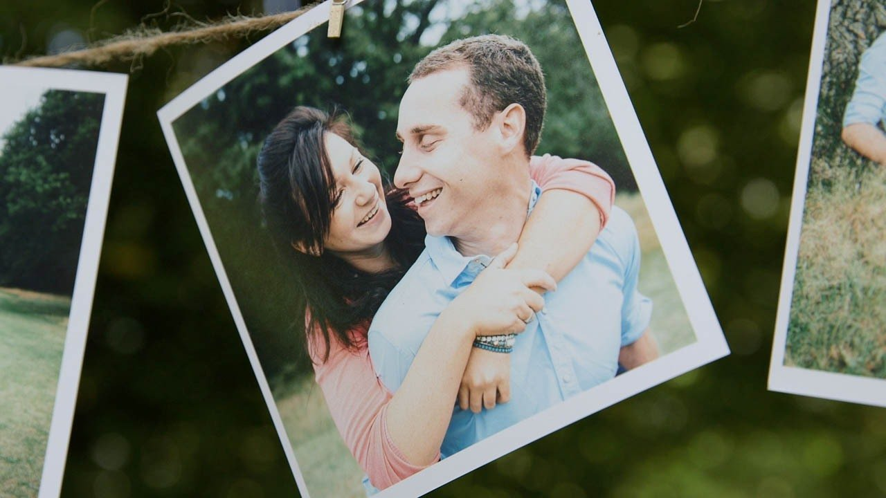 Russell's engagement film